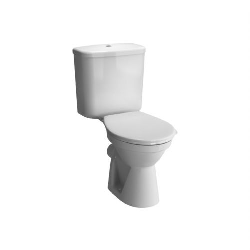 Vitra Milton Close Coupled Toilet Including Soft Close Toilet Seat